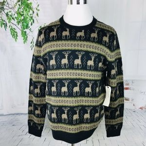 LIFE AFTER DENIM Not Ugly Christmas Sweater XL NWT